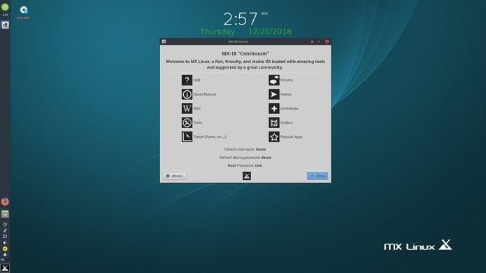 MX Linux 18.3 lançado - Confira as novidades e baixe