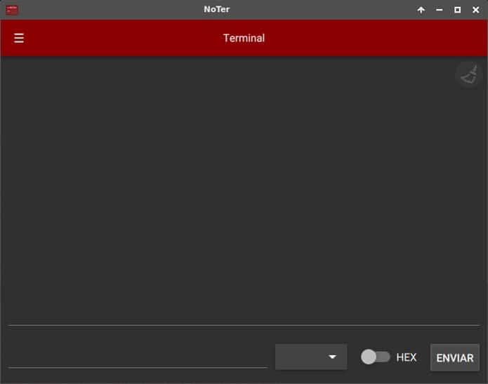 Como instalar o terminal de porta serial NoTer no Linux via appimage