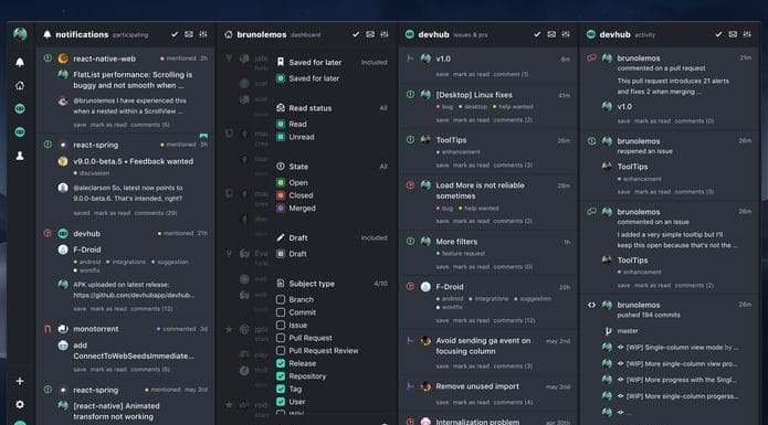Como instalar o TweetDeck for GitHub DevHub no Linux via appimage