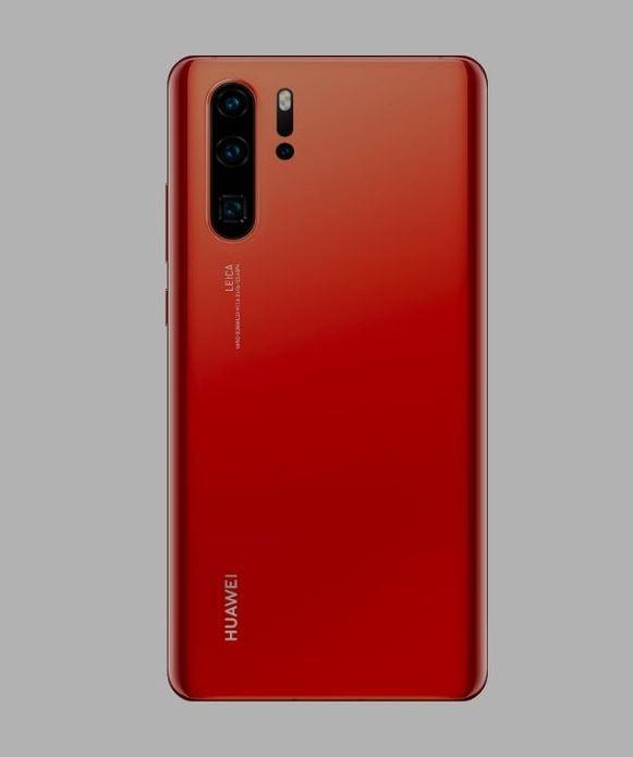 Apenas 0.9% do smartphone P30 Pro da Huawei é fabricado nos EUA