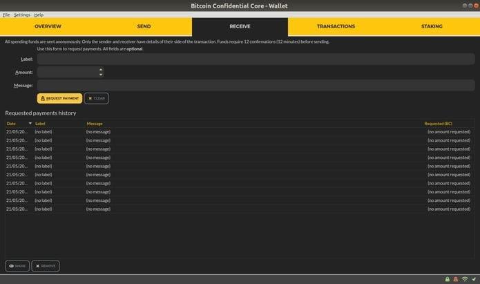 Como instalar a carteira Bitcoin Confidential no Linux via Snap
