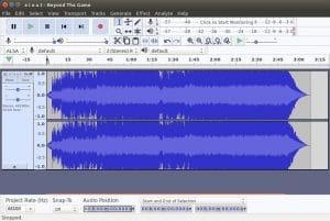 Como instalar o editor de áudio Audacity no Linux via Snap