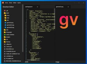Como instalar o editor de texto Graviton no Linux via AppImage