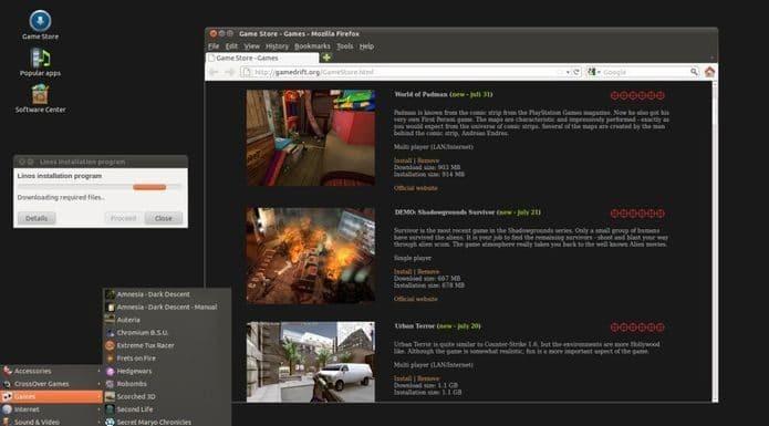 Game Drift Linux - uma distribuição otimizada para jogos