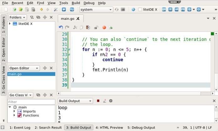 ide go liteide no linux via appimage - Como instalar Command & Conquer: Red Alert no Linux via Snap