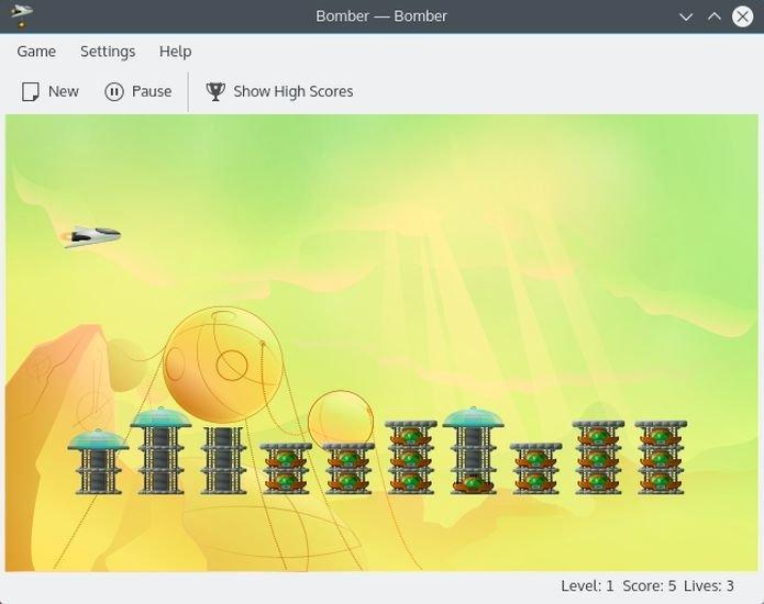 Como instalar o jogo arcade bomber no Linux via Snap