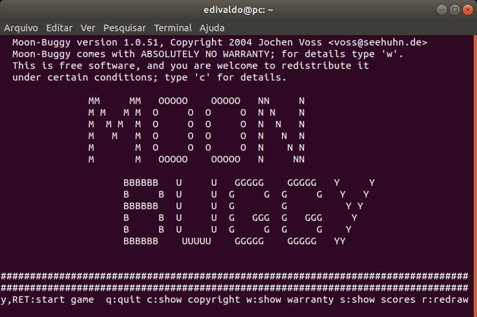 jogo moon buggy no linux via snap 1 - Como instalar o Google Chrome no Ubuntu e derivados