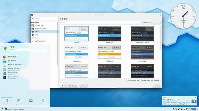 kde plasma 5162 lancado - SUSE Linux Enterprise 15 SP1 lançado - Confira as novidades e baixe