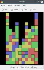 Como instalar o jogo de quebra-cabeça klickety no Linux via Snap
