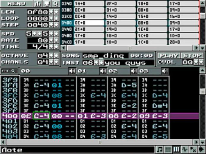 Como instalar o criador de músicas de 8 bits klystrack no Linux via Snap