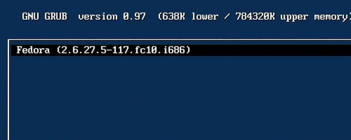 Parece que o Fedora 31 irá descontinuar suas versões do kernel i686