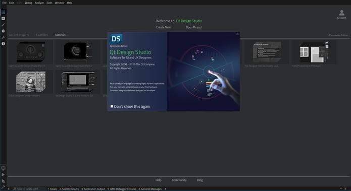 Como instalar a ferramenta Qt Design Studio no Linux