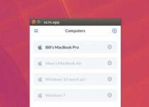 Como instalar o app de desktop remoto Scrn no Linux via Snap