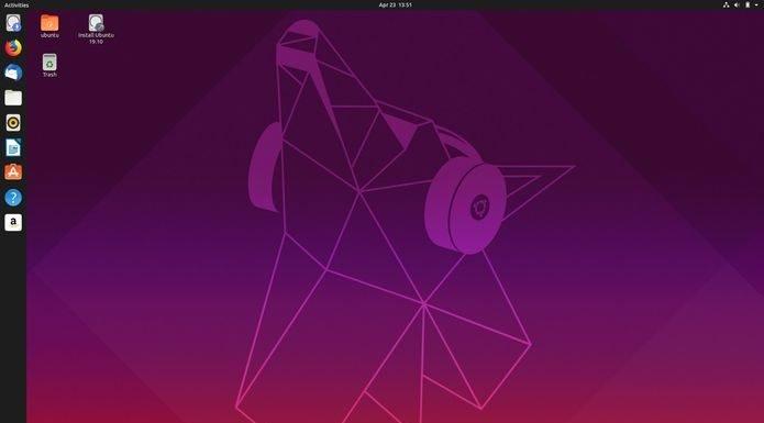 Abertas as inscrições do concurso do papel de parde do Ubuntu 19.10