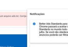 AdSense alerta que o Chrome irá bloquear anúncios abusivos a partir de 9 de julho