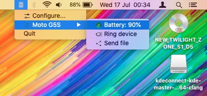 Aplicativo KDE Connect já está disponível para o macOS