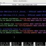Como adicionar os repositórios contrib e non-free no Debian 10
