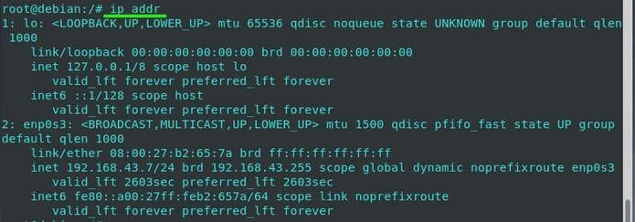 Como instalar o comando ifconfig no Debian e derivados