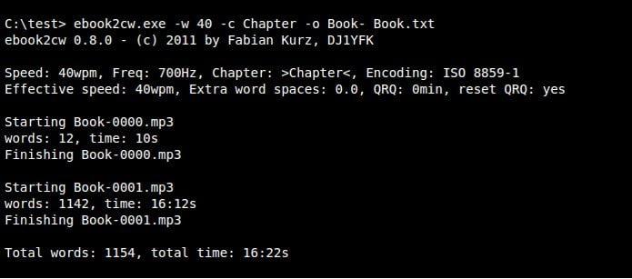 Como instalar o conversor de ebook para áudio ebook2cw no Linux via Snap