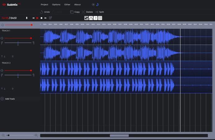Como instalar o editor de áudio SubMix no Linux via Snap