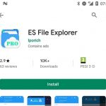 Falso ES File Explorer registrou mais de 10 mil downloads na Play Store