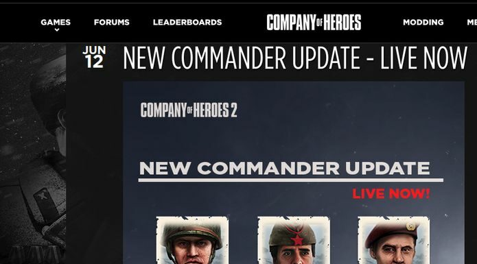 Feral trouxe o Company of Heroes 2 Commander Update para o Linux