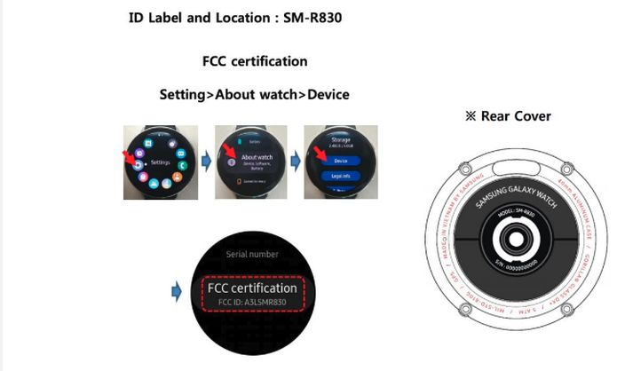Fotos do Galaxy Watch Active 2 da Samsung vazaram na FCC