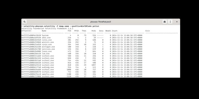 Como instalar o framework Volatility no Linux via Snap