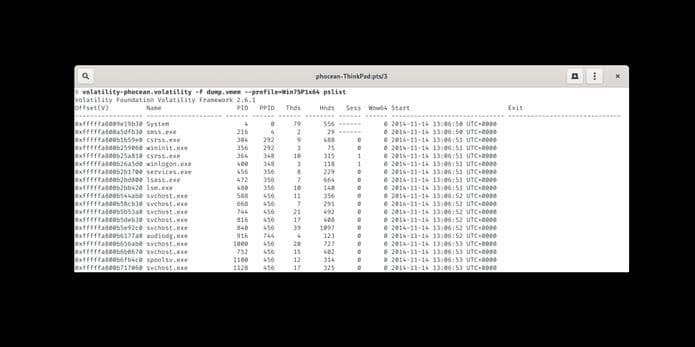 Como instalar o framework Volatility no Linux via Snap