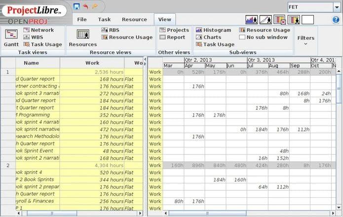 Como instalar o gerenciador de projeto ProjectLibre no Linux via Snap