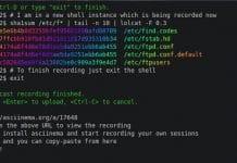 Como instalar o gravador de tela asciinema no Linux via Snap