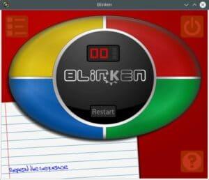 Como instalar o jogo de melhoria da memória Blinken no Linux via Snap