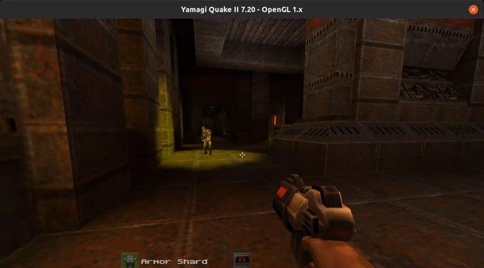 Como instalar o jogo Yamagi Quake II no Linux via Snap