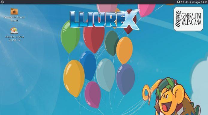 Lliurex 19 lançado com ambiente KDE Plasma e Aplicativo KDE