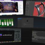 Projeto xrdesktop promete levar a realidade virtual para o desktop Linux