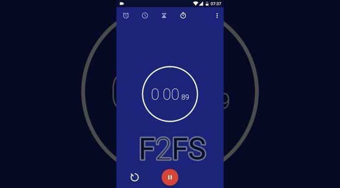 Sistema de arquivos F2FS recebeu suporte a case-folding