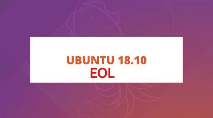 Ubuntu 18.10 chegará ao fim da vida no dia 18 de julho de 2019
