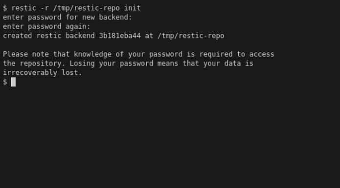 Como instalar o utilitário de backup Restic no Linux via Snap