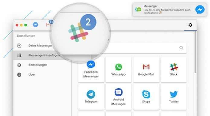 Como instalar o All-in-One Messenger no Linux via Snap