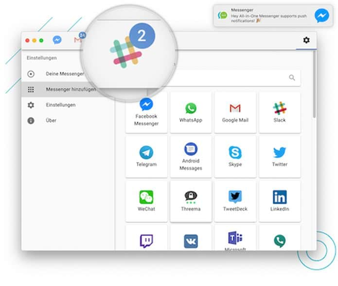 Como instalar o All-in-One Messenger no Linux via Snap