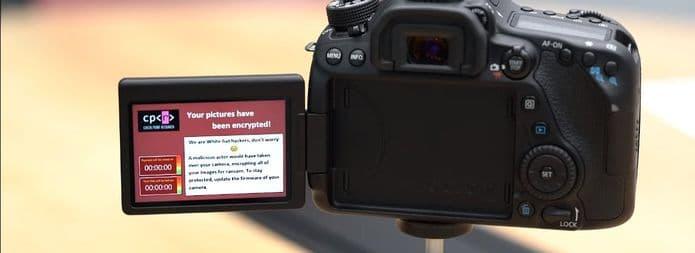 Câmera DSLR da Canon foi infectada usando apenas uma conexão WiFi