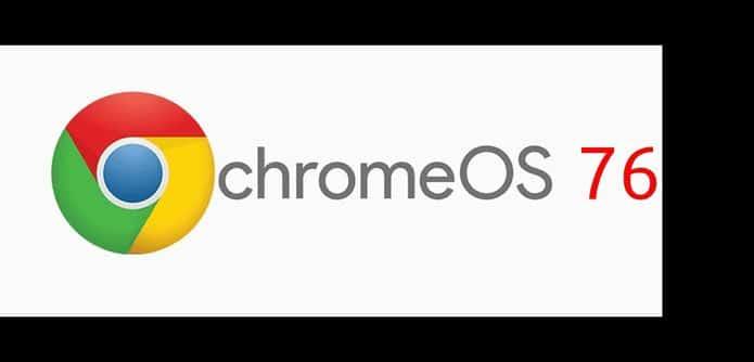 Chrome OS 76 lançado com novos controles multimídia e mais