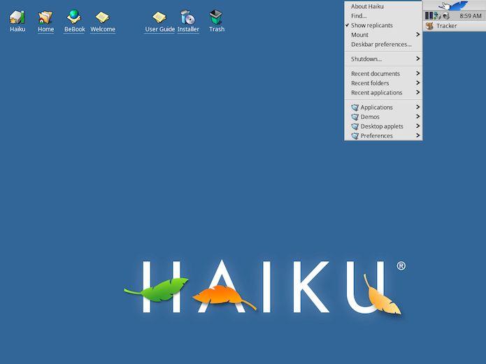 Desenvolvedores do Haiku começaram a otimizar o desempenho do SO