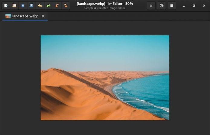 Como instalar o editor de imagens ImEditor no Linux via Flatpak