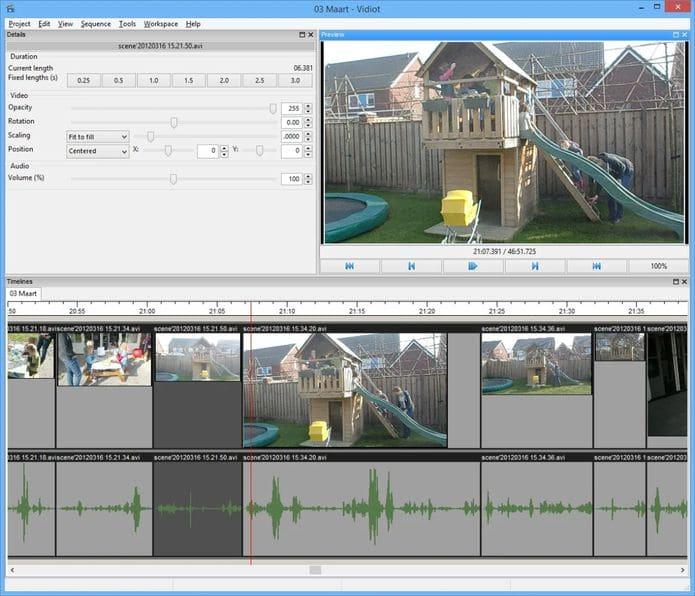 Como instalar o editor de vídeos Vidiot no Linux via Snap