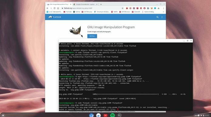 Executar o Chromium OS no computador? Use o ChromX Build 190824