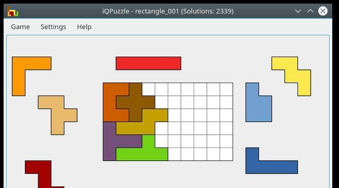 Como instalar o jogo de quebra-cabeça iQPuzzle no Linux via AppImage
