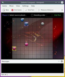 Como instalar o jogo galático konquest no Linux via Snap
