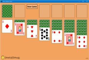 Como instalar o jogo Open Solitaire Classic no Linux via Snap
