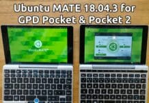 Lançado o Ubuntu MATE 18.04.3 LTS para o GPD Pocket e 19.04 para o GPD WIN 2
